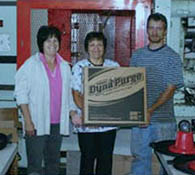 """""""Thanks to Dyna-Purge® F, we were able to run our client's order."""""""