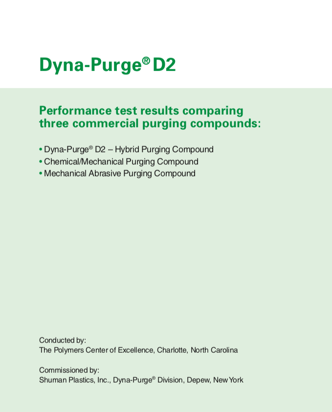 Dyna-Purge A Performance Test Results